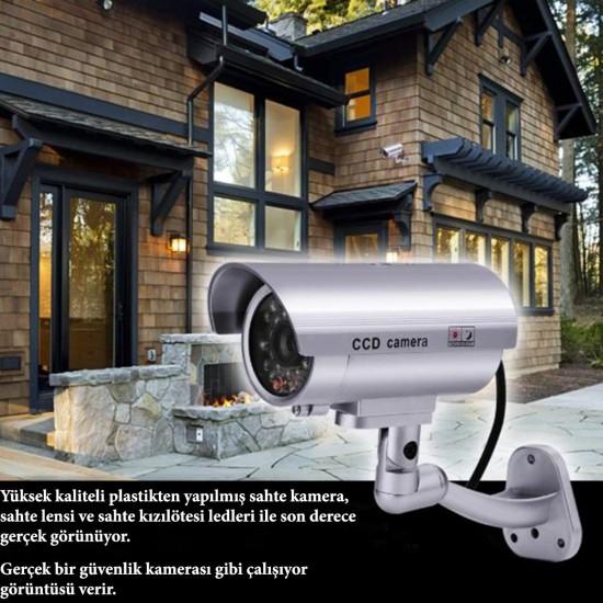 %100 Gerçekçi İç ve Dış Mekan İçin Sahte Güvenlik Kamerası