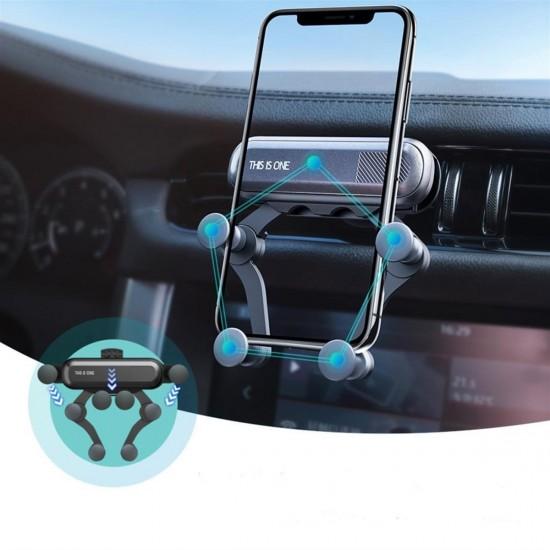 4 Nokta Destekli Araç İçi Cep Telefonu Sabitleyici Tutucu Aparat
