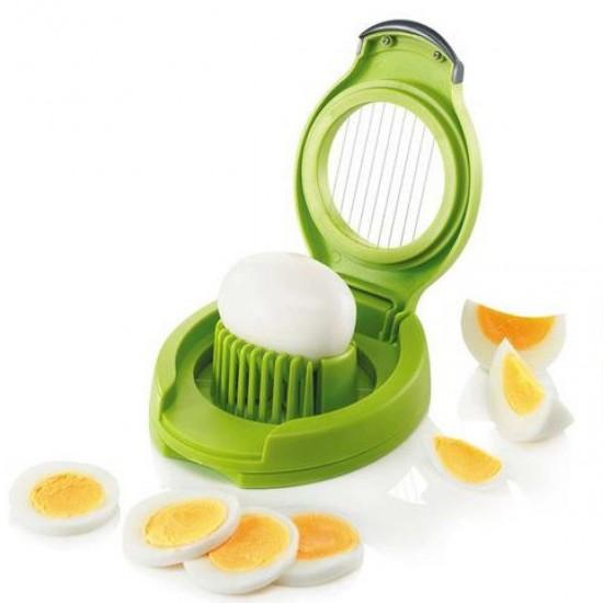 Yumurta Doğrayıcı Pratik Dilimleme Kesme Porsiyonlama Aleti