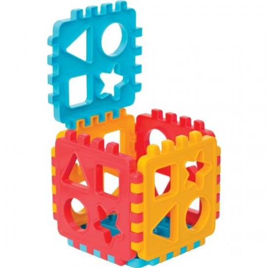 Bultak Küp  Puzzle Zeka Geliştirici Oyun
