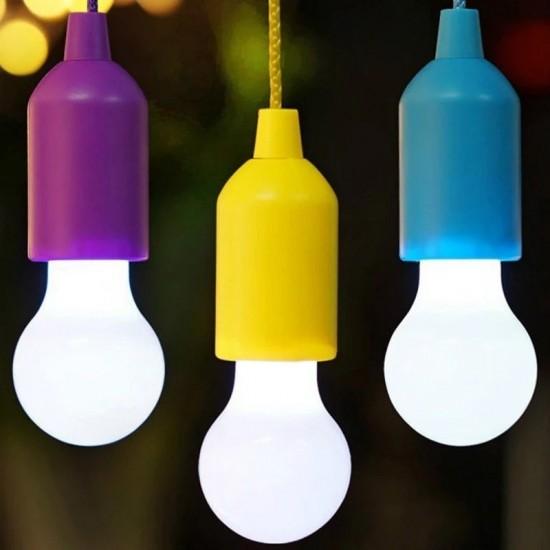 Çek Yak Portatif İpli Lamba - Taşınabilir Kamp Feneri