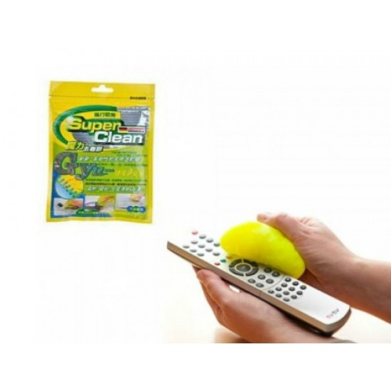 Süper Clean Klavye Temizleme Jeli - Araç Içi Temizlik Tuş Temizleme